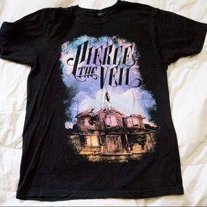 Galaxy Pierce The Veil T-shirt emo grunge
